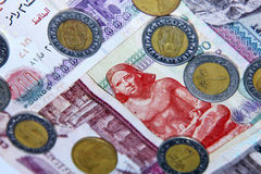 Egyptian money Royalty Free Stock Image