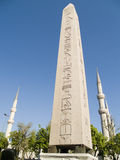 Egyptian monolith. Placed in the racecourse - Istanbul - Turkey Stock Photo