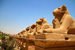 Egyptian Monuments Royalty Free Stock Images