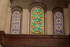 Egyptian Mosque Windows Royalty Free Stock Images