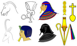 Egyptian motives Royalty Free Stock Photography