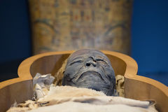 Egyptian mummy Stock Photo