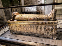Egyptian Mummy in Museum In Berlin Germany Royalty Free Stock Photo