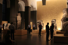 Egyptian Museum of Berlin Stock Photos