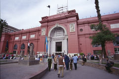 Egyptian Museum in Cairo Royalty Free Stock Photo