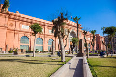 The Egyptian Museum in Cairo, Egypt Royalty Free Stock Images