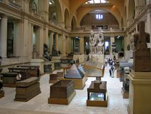 Egyptian museum at Cairo Stock Photo