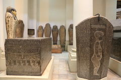 Egyptian museum Stock Photo