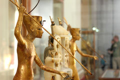 The egyptian museum from inside in cairo in egypt in africa  Stock Photos