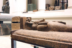 The egyptian museum from inside in cairo in egypt in africa  Stock Images