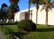 Egyptian Museum, San Jose, California. Front elevation of the Rosicrucian Egyptian Museum, San Jose, California, USA Royalty Free Stock Photo