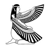 Egyptian national drawing. Stock Images