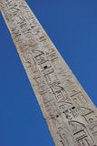 Egyptian obelisk. Egyptian obelisk in Piazza Giovanni in Laterano, Rome, Italy Stock Images