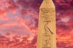 Egyptian obelisk Stock Images