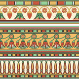 Egyptian ornament. Сollection. Royalty Free Stock Photography