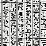 Egyptian ornaments and hieroglyphs Royalty Free Stock Photography