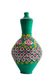 Egyptian painted pottery Vessel Royalty Free Stock Images