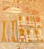 Egyptian painting Stock Image