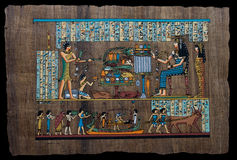Egyptian papyrus Royalty Free Stock Image