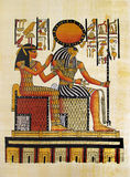 Egyptian papyrus royalty free stock images