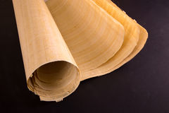 Egyptian papyrus roll Stock Photos