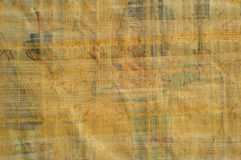 Egyptian papyrus texture Royalty Free Stock Images