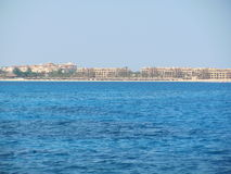 Egyptian paradise city in the Red sea Royalty Free Stock Photos