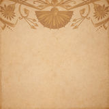 Egyptian parchment background Royalty Free Stock Image