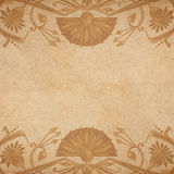Egyptian parchment background Stock Photography