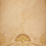 Egyptian parchment background Royalty Free Stock Photography