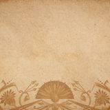 Egyptian parchment background Royalty Free Stock Photo