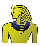 Egyptian pharaoh Royalty Free Stock Images