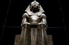 Egyptian pharaon statue Royalty Free Stock Photo