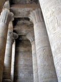 Egyptian Pillars Royalty Free Stock Photography
