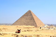 Egyptian piramide Royalty Free Stock Image