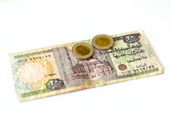 20 Egyptian pounds banknote, EGP Royalty Free Stock Image