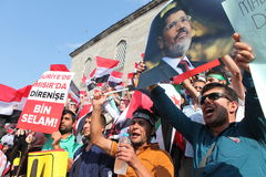 Egyptian Protest Royalty Free Stock Images