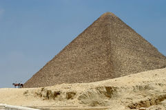 Egyptian pyramid Stock Images