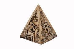 Egyptian pyramid Stock Image