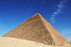 Egyptian pyramid. Egyrtian piramid Royalty Free Stock Photos