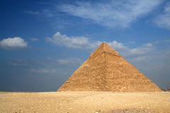 Egyptian  pyramid Stock Image