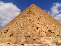 Egyptian a pyramid Royalty Free Stock Photos