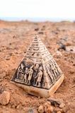 Egyptian Pyramid Model Miniature Royalty Free Stock Image