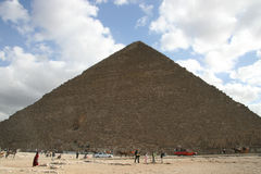 Egyptian pyramids Stock Photography