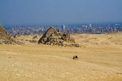 Egyptian pyramids, Egyptian pyramids Royalty Free Stock Photos