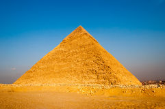 Egyptian Pyramids of the Giza Plateau, Cairo Royalty Free Stock Photo