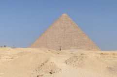 The Egyptian pyramids Stock Photography
