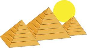 Egyptian Pyramids Royalty Free Stock Photography
