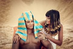 Egyptian Queen Stock Photography