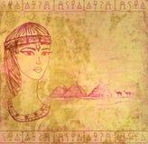 Egyptian queen Stock Photos